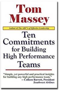 Image of book Ten Commitments for Building High Performance Teams